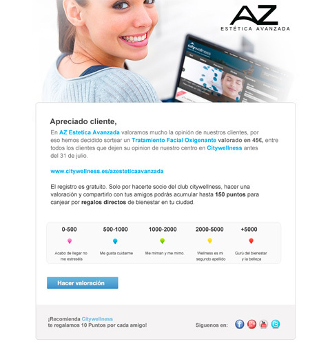 Newsletter mensuales